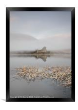 Kilchurn Castle Sunrise, Framed Print