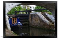 Stockers Lock the Grand Union Canal Rickmansworth, Framed Print