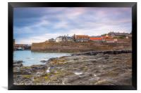 Craster Fishing Village  Northumberland, Framed Print