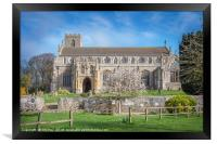 St Margaret Of Antioch's Church Cley next the Sea, Framed Print