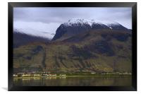 Ben Nevis in winter, Scotland, Framed Print