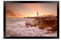 Portland Bill Sunset, Framed Print