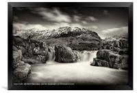 Waterfall on the River Etive, No. 2., Framed Print