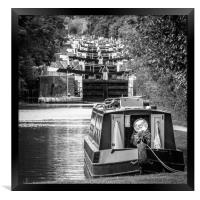 The Stair at Hatton Lock, Framed Print