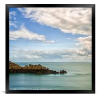 Pointe de Grouin, Framed Print