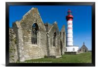 Saint Mathieu Lighthouse, Framed Print