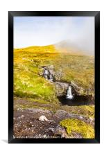 The Waterfall, Framed Print