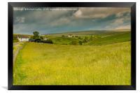 Ettersgill Farms and Hay Meadows, Teesdale, Framed Print