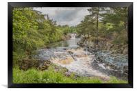 Low Force Waterfall on the Summer Solstice 1, Framed Print