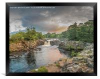 Low Force Waterfall on the Summer Solstice 3, Framed Print