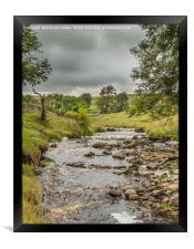Ettersgill Beck Teesdale after a Wet Day 1, Framed Print