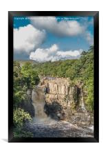 High Force Waterfall, Upper Teesdale, Framed Print