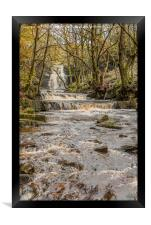 Bow Lee Beck and Summerhill Force in Autumn 1, Framed Print