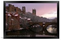 Durham Castle and Cathedral, Framed Print