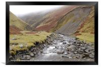 Grey Mare's Tail, Framed Print