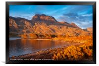 Slioch from Loch Maree, Highland, Scotland, Framed Print