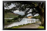 Buttermere lake view, Framed Print