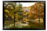 Coniston Water in Flood, Framed Print
