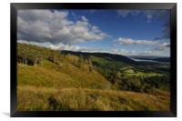 View Over Benmore, Framed Print