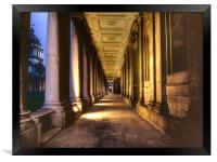 Greenwich Royal Naval College HDR, Framed Print