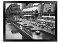 The Barbican Centre, Framed Print