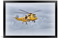 RAF Sea King Search and Rescue, Framed Print