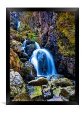 Lodores Fall, Framed Print