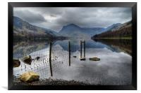 Buttermere Reflections, Framed Print