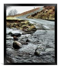 Dalby Forest Ford, Framed Print