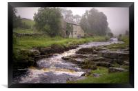 Misty Day (in the Yorkshire Dales), Framed Print