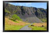 Wastwater Screes., Framed Print