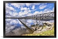 A Bridge To The Other Side., Framed Print