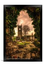 Tullylish Bell Tower, Framed Print