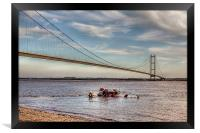 Humber Recovery 2014, Framed Print