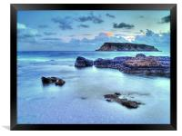Turquoise Waters, Framed Print