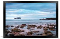 Bass Rock And The Beacon, Framed Print