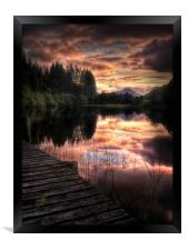 Loch Ard, Summer Dreams, Framed Print