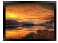 Loch Ba Sunrise, Scotland, Framed Print