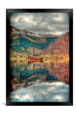 Boat On Loch Leven, Framed Print