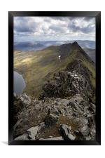 Striding Edge to Helvellyn, Framed Print