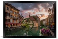 Annecy, France, Framed Print