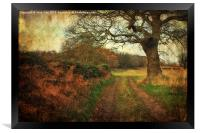 A Norfolk Walk 2, Framed Print