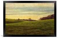 Norfolk Hills!, Framed Print