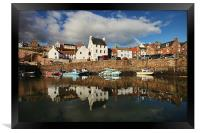 Crail Harbour Reflections, Framed Print