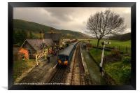 Dmu at Carrog, Framed Print