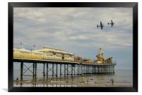 Paignton Pier Memorial Flight , Framed Print