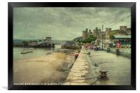Conwy Castle , Framed Print