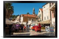 Hvar eco delivery , Framed Print