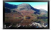Buttermere Mirror 2, Framed Print
