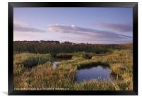 Marshes and Windmill. Cley-next-the-Sea, Norfolk, , Framed Print